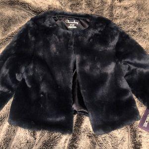 Blue Short Fur for Toddler Girl 2T-3T